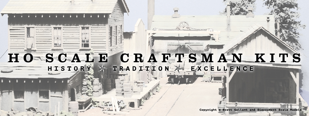 SierraWest | HO Scale Craftsman Kits